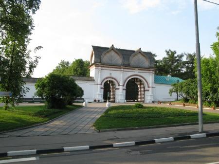 Спасские (Задние) ворота, XVII в